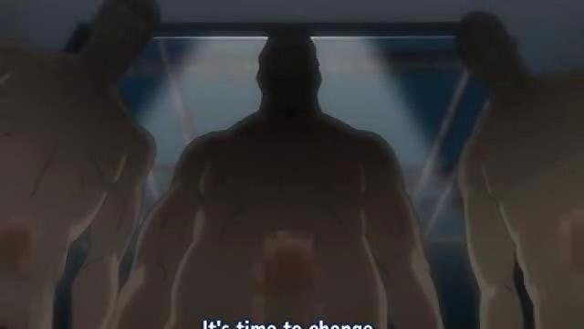 nackte anime mädchen mit großen titten
